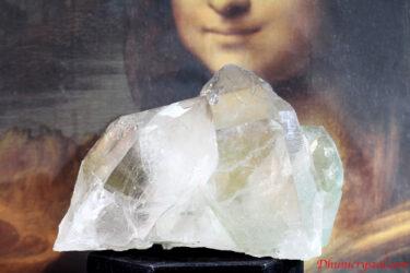 モナリザも微笑む♡フランス産モンブラン水晶